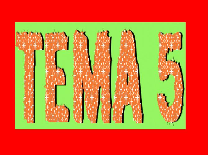 tema 5 de matemáticas