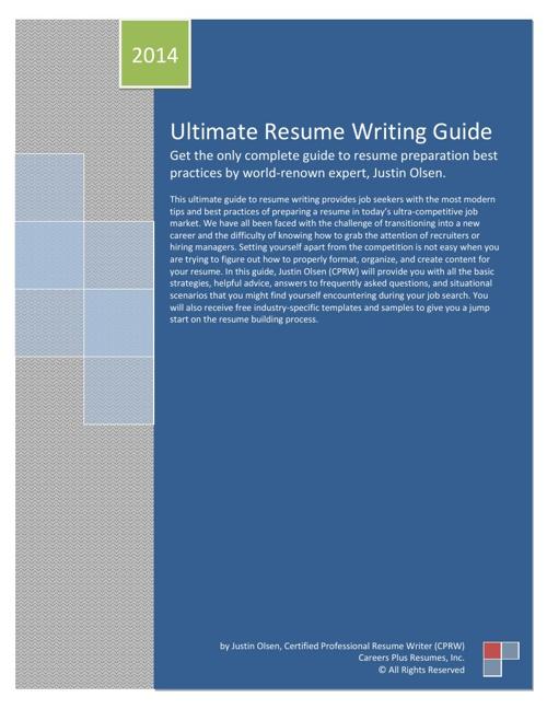 Ultimate Resume Writing Guide