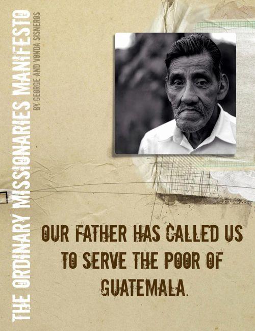 Ordinary Missionaries Manifesto