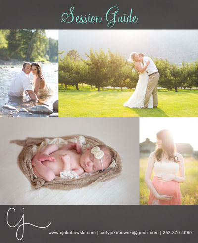 C.Jakubowski Photography's Session Guide