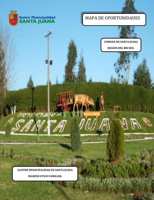 Mapa de oportunidades - Santa Juana