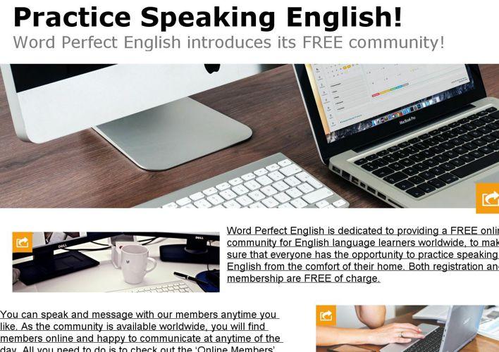 Practice Speaking English!