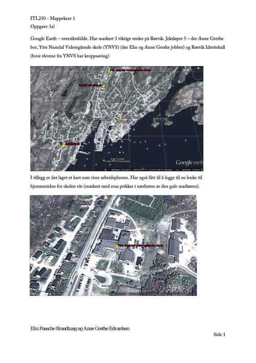 Mappekrav 1