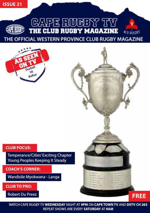 Cape Rugby TV ISSUE 21