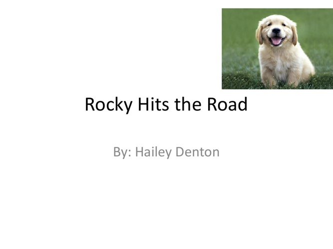 Rocky Hits the Road