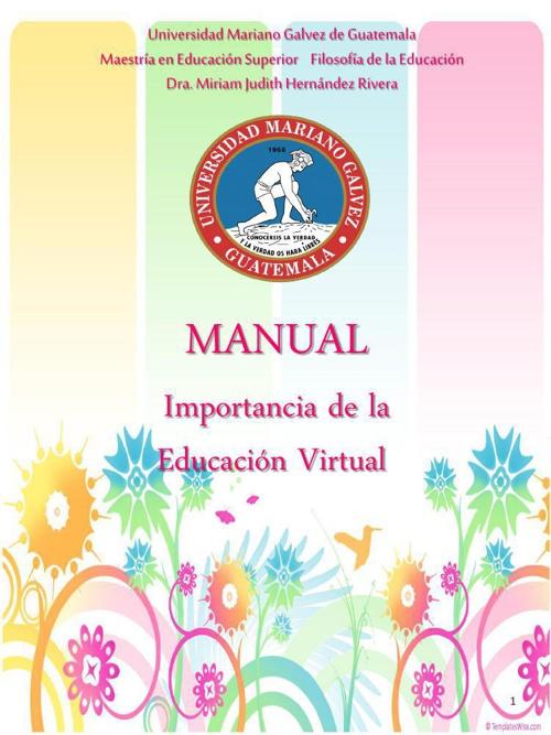 MANUAL EDUCACION VIRTUAL GRUPO N. 1