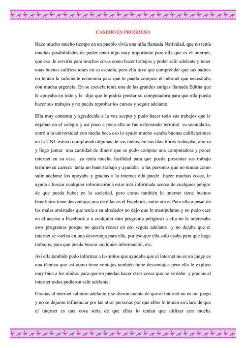 CUENTO DAYELY TANTA CANDELA