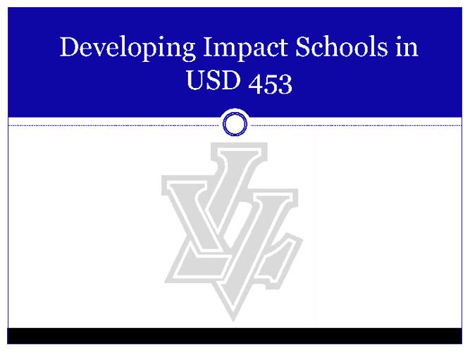 Anthony:  The Big 4 & Impact Schools