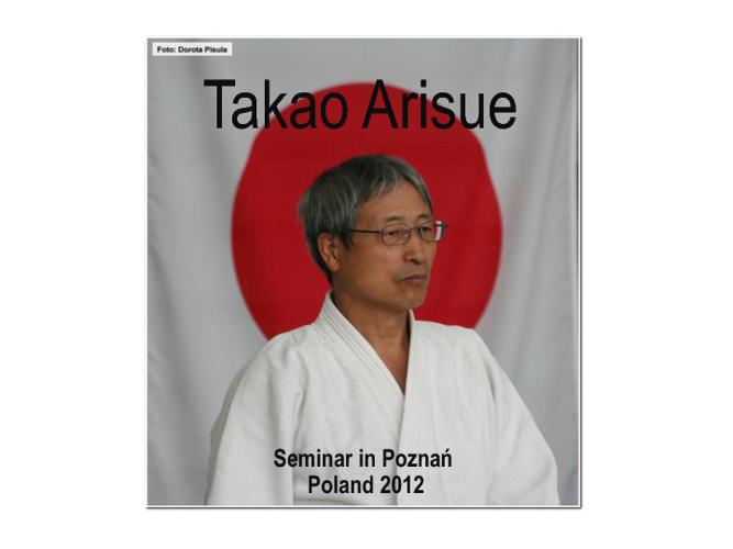 Takao Arisue - Seminar in Poznan - Poland 2012