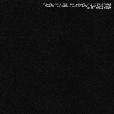 Lorde - Green Light (Fan Made Single Booklet