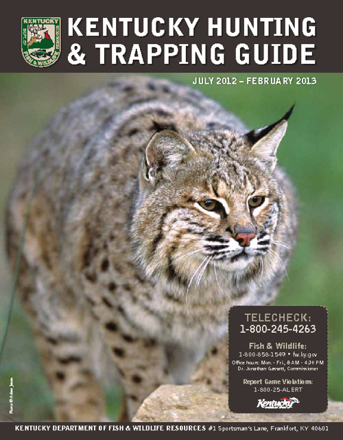 2012-13 Kentucky Hunting and Trapping Guide