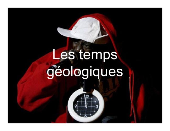 4.8 Les temps géologiques