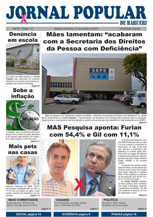 112ª edicao do Jornal Popular de Barueri