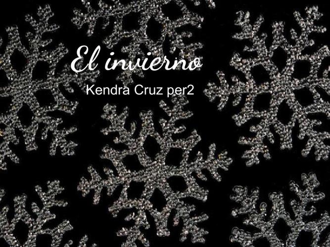 El Invierno - Kendra Cruz