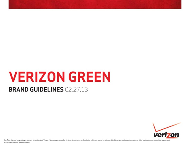 Verizon Green