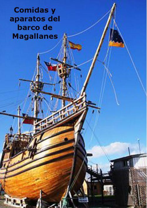 Comidas que llevaba Magallanes