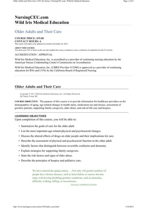 OlderAdults&TheirCare141001