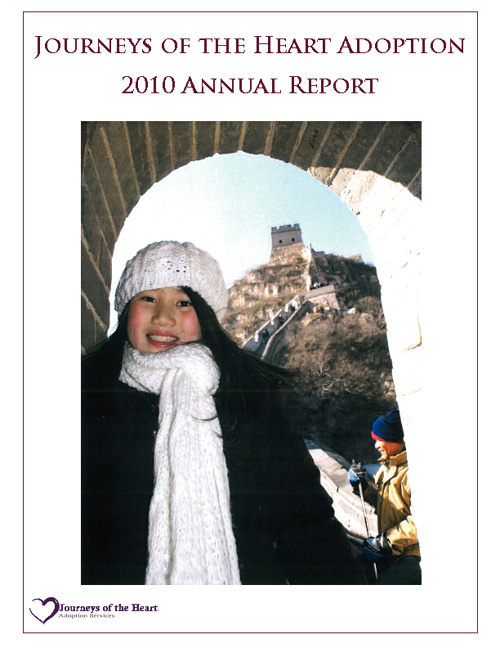 Journeys of the Heart- Annual Report 2011