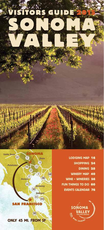 Sonoma Valley Visitors Guide // 2015