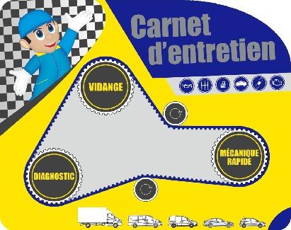 Carnet D'entretien S.T.P.A