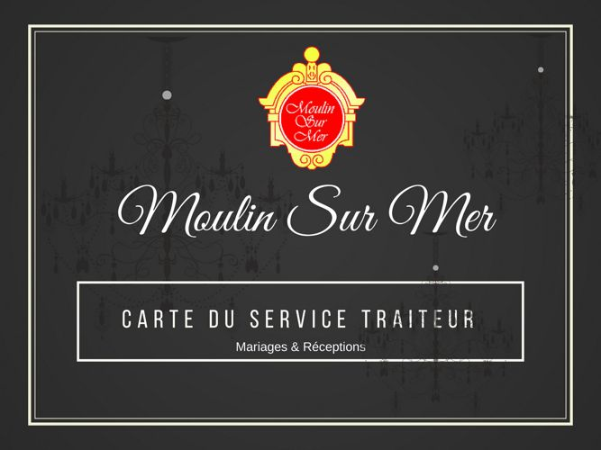 CARTE DU SERVICE TRAITEUR