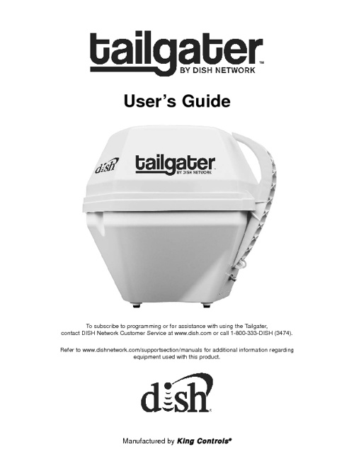 Tailgater Instruction Manual