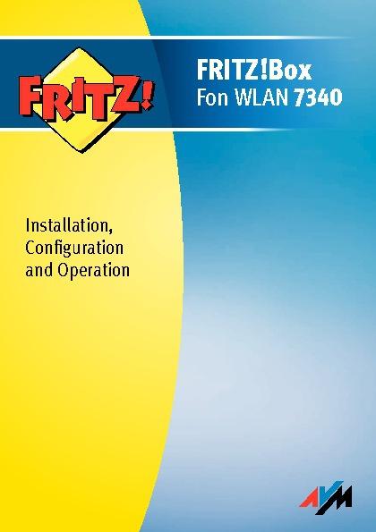 Fritzbox 7340 Manual