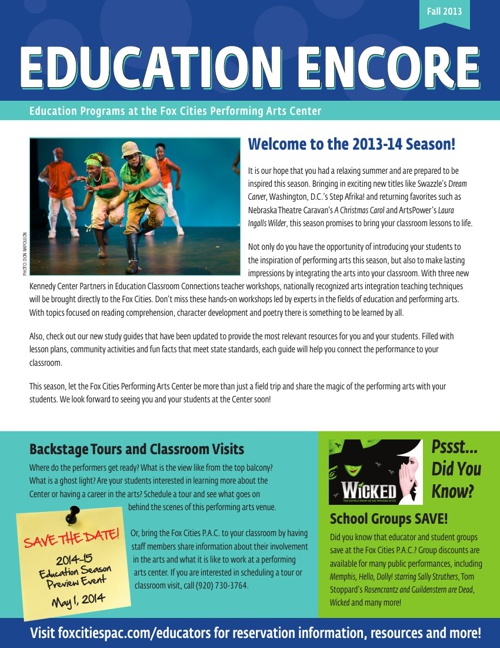Education Fall Mailer