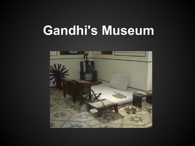 Gandhi's Museum