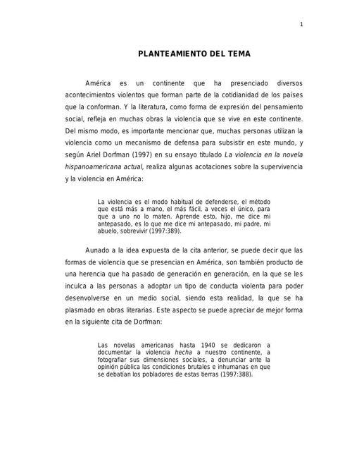 """LA VIOLENCIA EN LOS PERSONAJES DE LA OBRA""""ENTRE CORIANOS TE VEAS"""