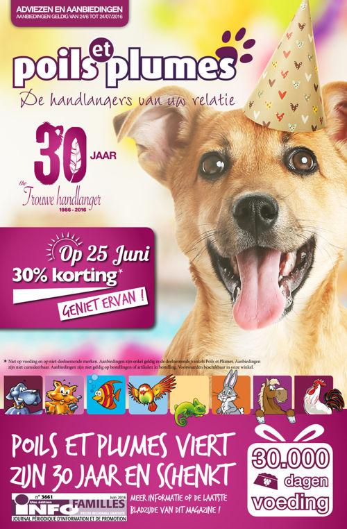 Poils & Plumes - Juin 2016 (NL)