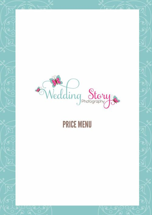 Wedding PriceMenu 2015
