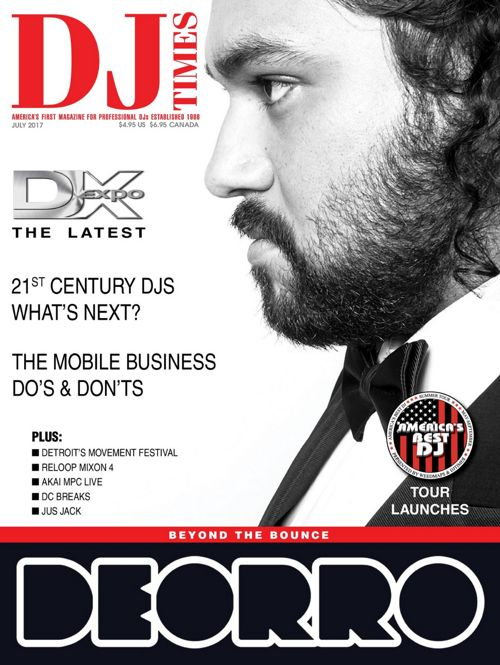 DC Breaks DJ Times Magazine July 2017