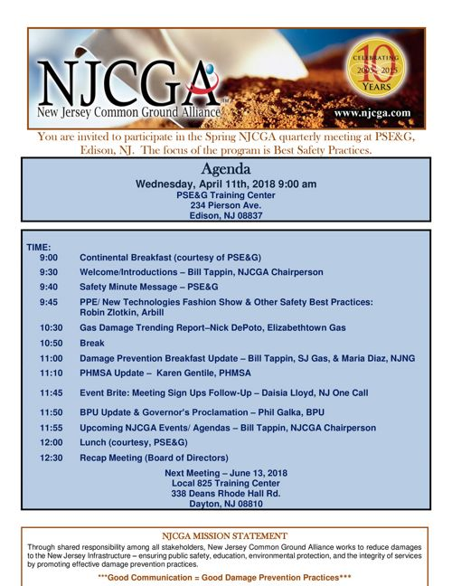 NJCGA  Agenda 2018 April  FINAL