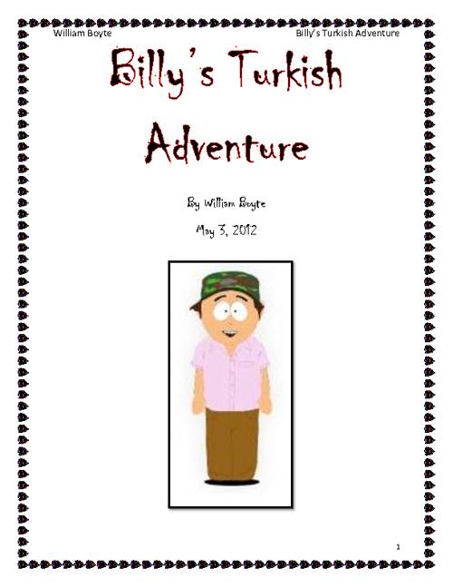 Billy's Turkish Adventure