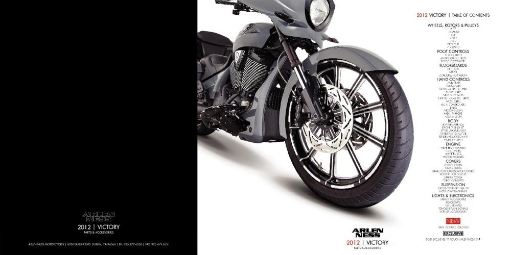 2012 Arlen Ness Victory Catalog