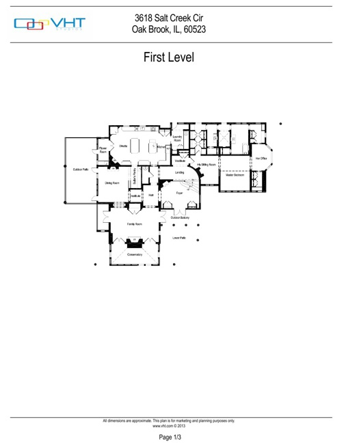 3618 Salt Creek Circle Floor Plans