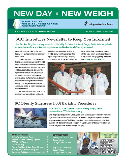 SCO Newsletter (Volume 1 / Issue 1 / May 2012)