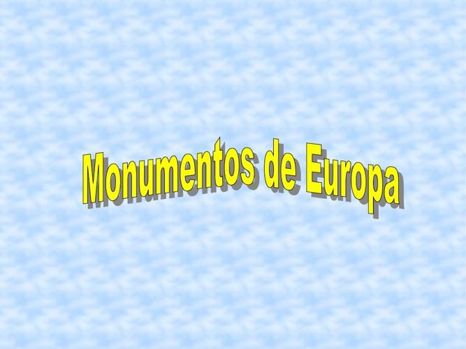 Monumentos de Europa