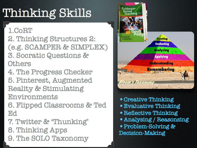 Developing Post-16 Thinking Skills