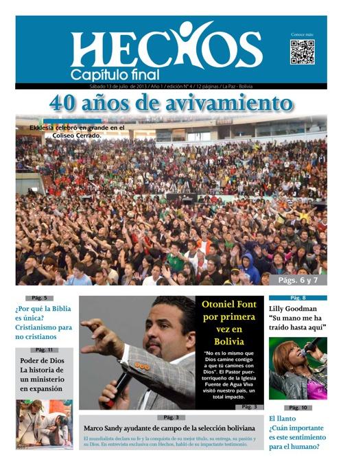 Periodico Hechos Nro. 4