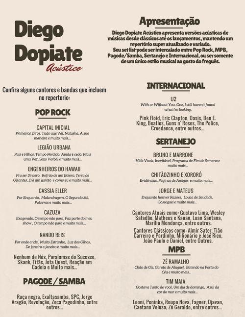 Diego Dopiate Acústico