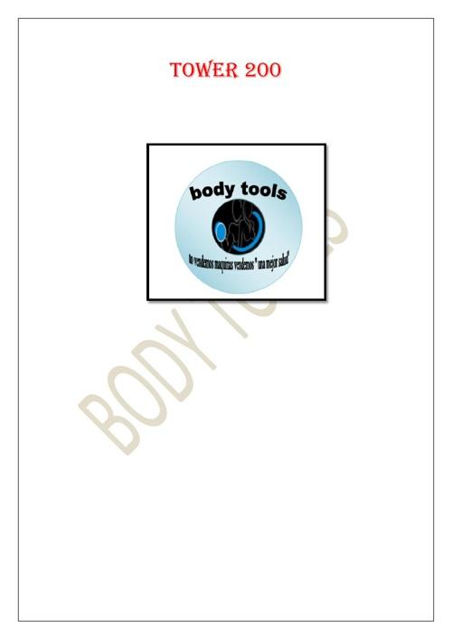 BODY TOOLS