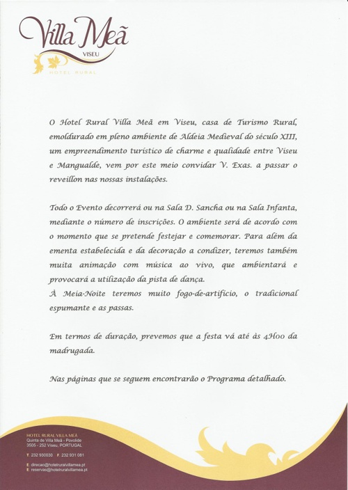 VILLA MEÃ - PASSAGEM DE ANO 2012-2013