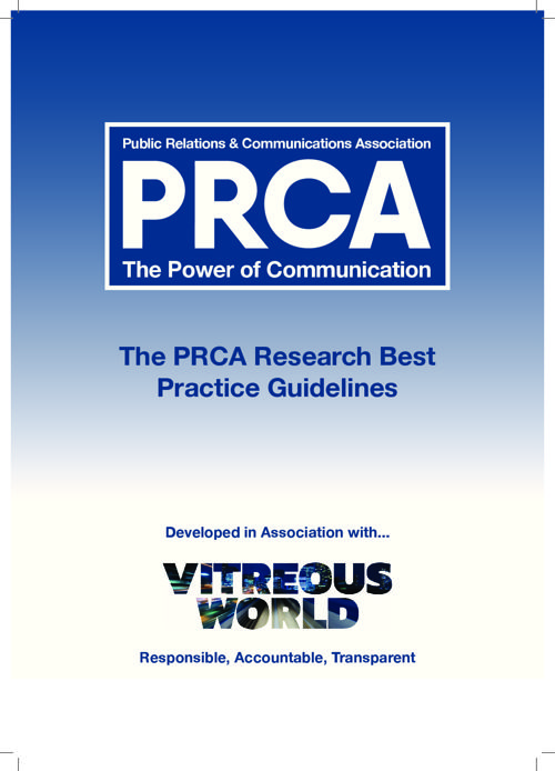 PRCA Research Best Practice Guidlines