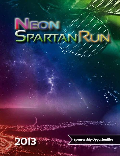 Neon Spartan Run