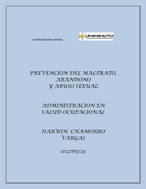 PREVENCION DEL MALTRATO LIBRO