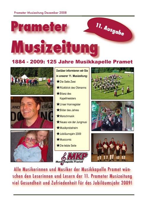 Musizeitung 2008 (Teil 1)