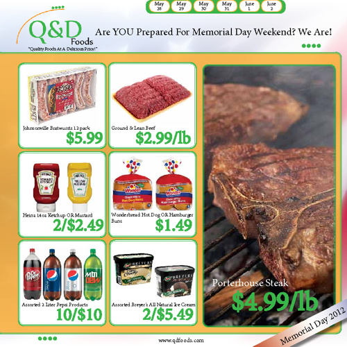 Q&D Foods Weekly Ad