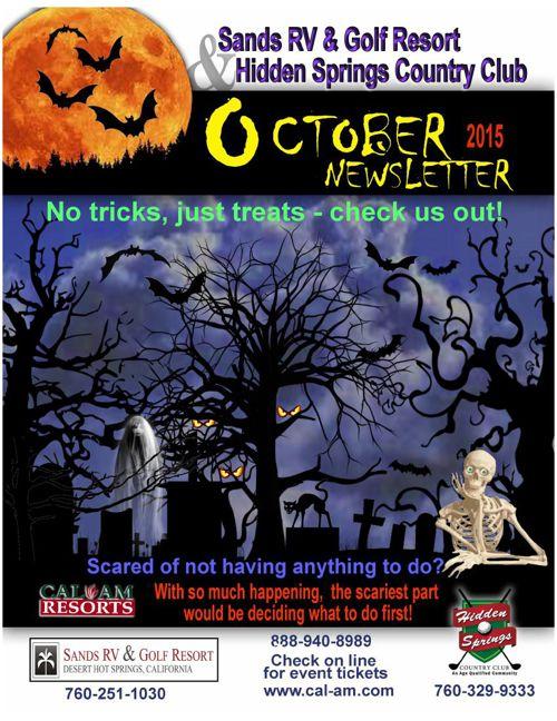 Oct NewsLetter Sands & HiddenS AJ